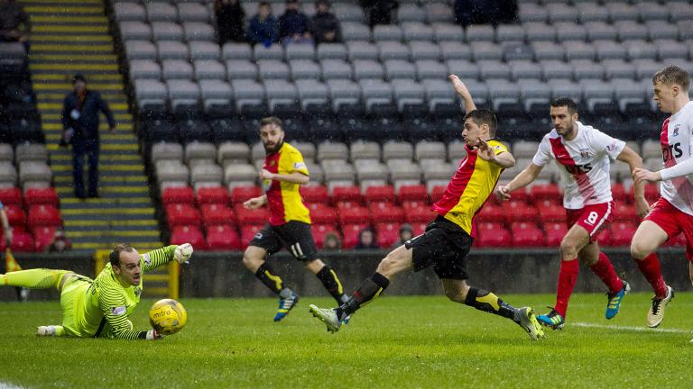 Kris Doolan denied as Partick Thistle draw 0-0 with Kilmarnock