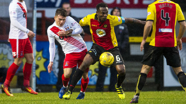 See highlights of the draw between Partick Thistle and Killie