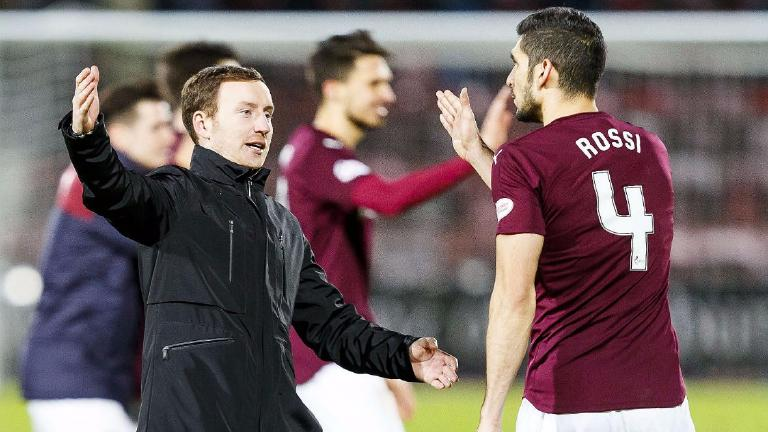 Ian Cathro admits January could see players leave Hearts