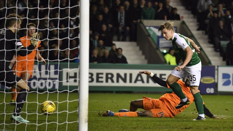 Jason Cummings double helps Hibs to 3-0 win over Dundee United
