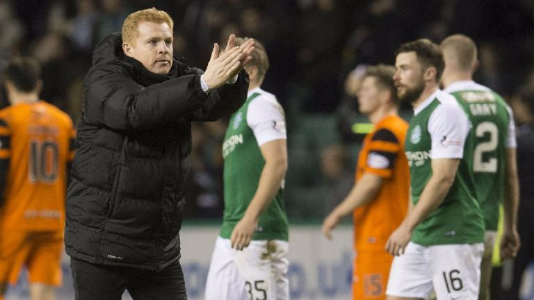 Neil Lennon surprised by Hibs display against Dundee Utd