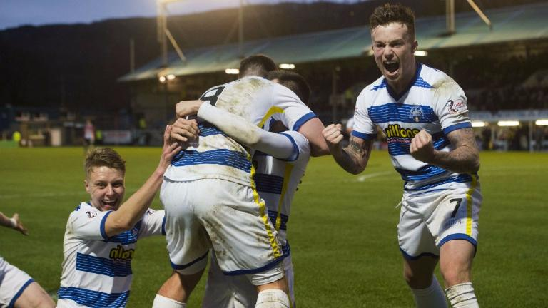 Morton close gap on second place with win over Raith Rovers