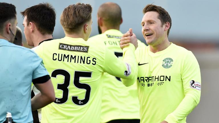 Kris Commons strike gives Hibernian 1-0 win at Dumbarton