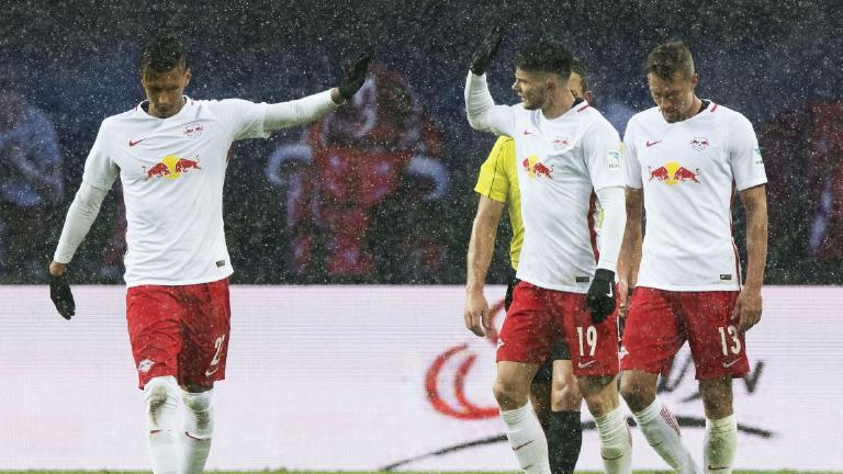 Oliver Burke scores in RB Leipzig friendly win over Rangers