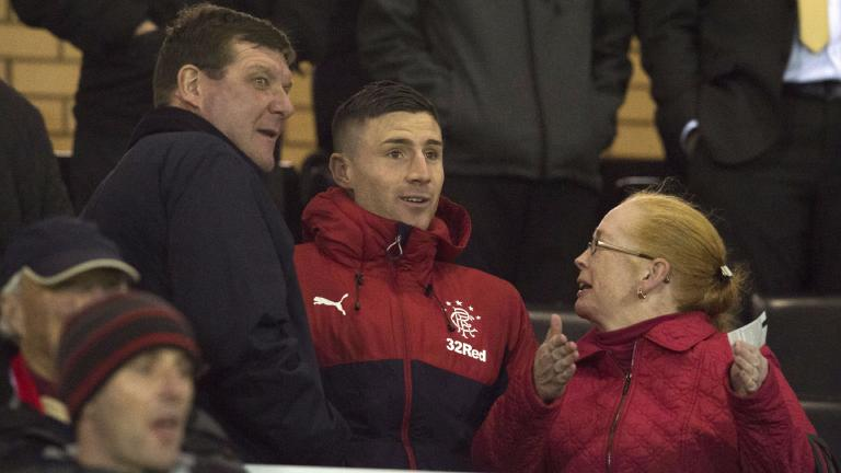 Michael O'Halloran return would interest St Johnstone boss