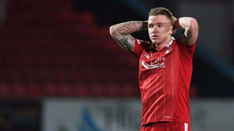Aberdeen reject second Cardiff City offer for Jonny Hayes