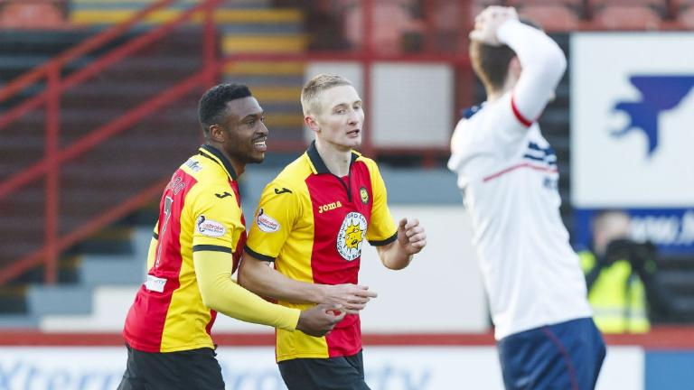 Partick Thistle ease to comfortable win over Formartine Utd