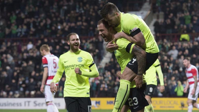 Hibs start Scottish Cup defence with 8-1 win over Bonnyrigg