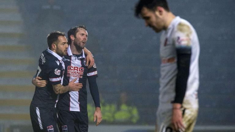 Ross County hit Dundee United for six in cup thumping