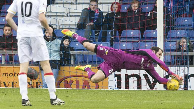 Highlights of the draw between Inverness and Partick Thistle