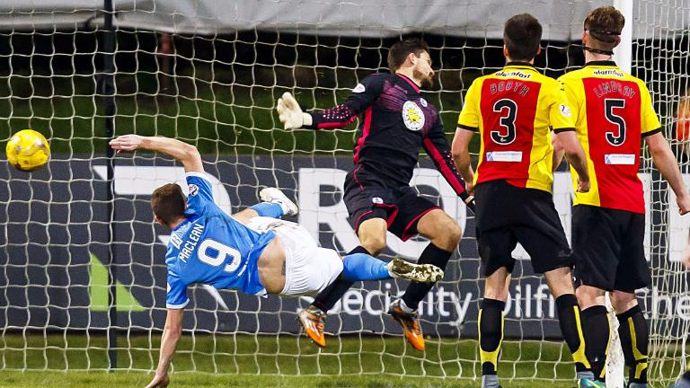 St Johnstone beat Partick Thistle thanks to Steven MacLean strike
