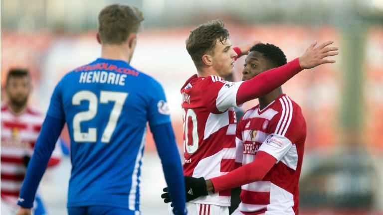 Hamilton Accies and Kilmarnock share Premiership points