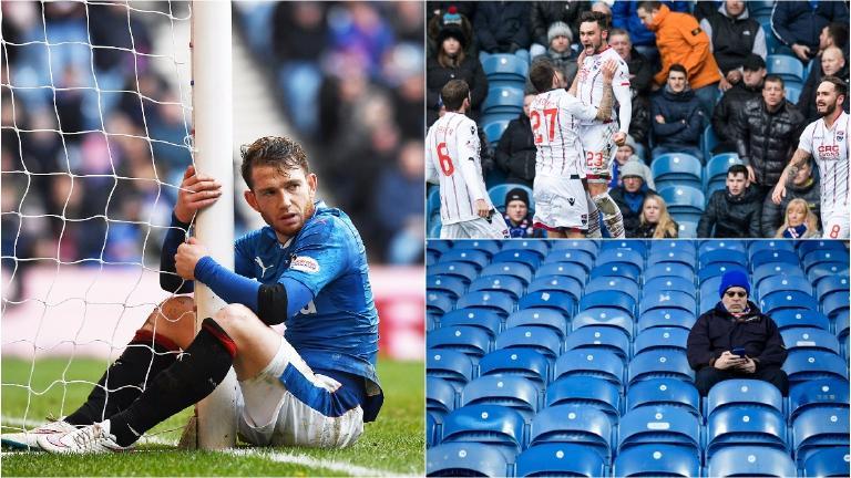 Rangers snatch point but pressure mounts on Mark Warburton