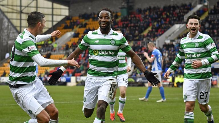 Dembele hits hat-trick as Celtic fight back to maintain run