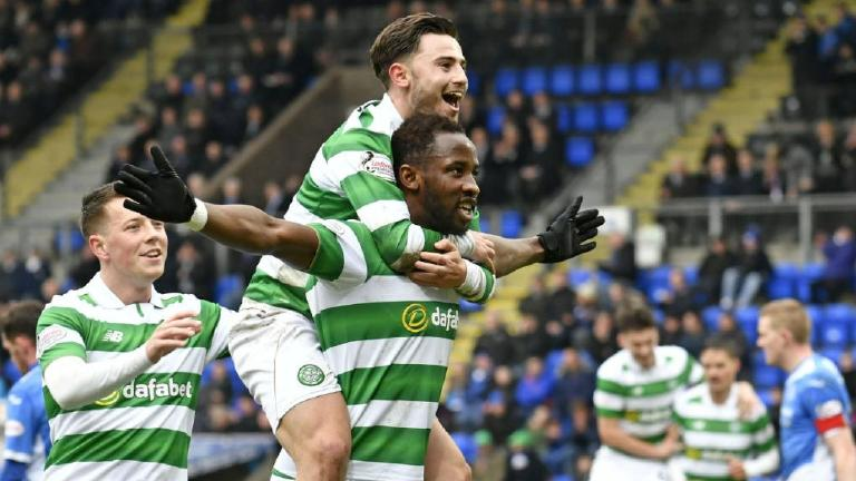 See Dembele net a hat-trick to preserve Celtic's unbeaten run