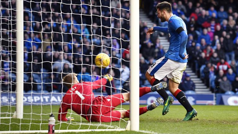 'Randomness' played part in Rangers' draw with Ross County