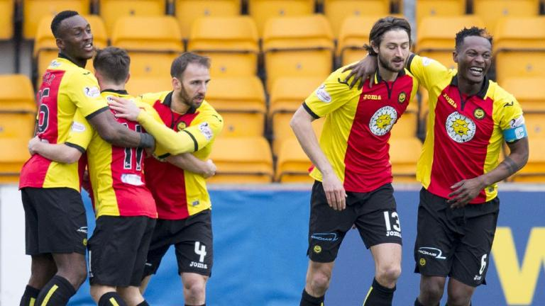 Partick Thistle move into quarter-finals with win in Perth