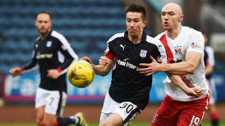 Dundee remain without a win in 2017 after draw with Killie