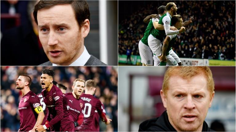 As it happened: The goalless draw between Hearts and Hibs