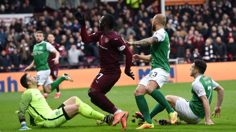 Hearts and Hibs fail to find breakthrough in derby stalemate