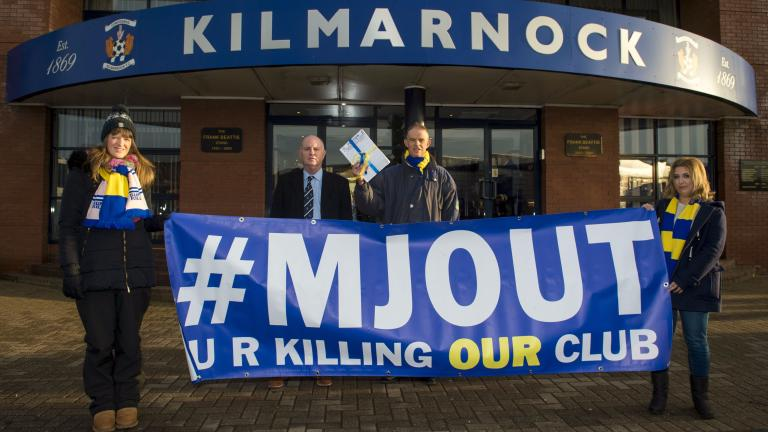 Killie fans to hold Michael Johnston protest during Dons clash