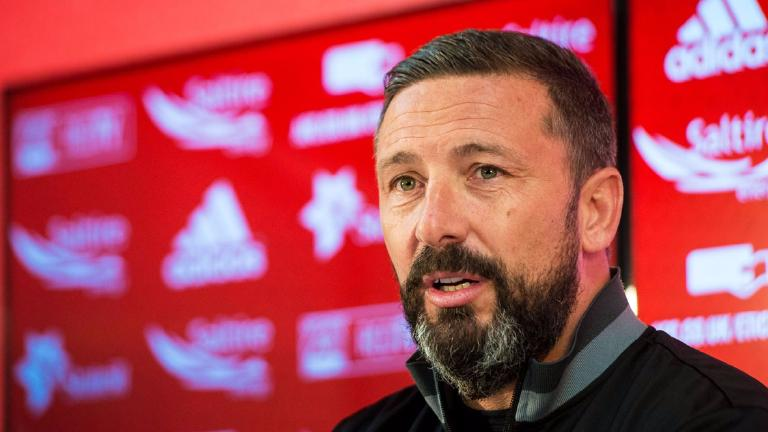 McInnes insists his focus is on Aberdeen after Rangers link