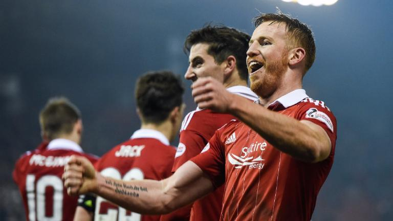 Hat trick for Rooney as Aberdeen put seven past Motherwell