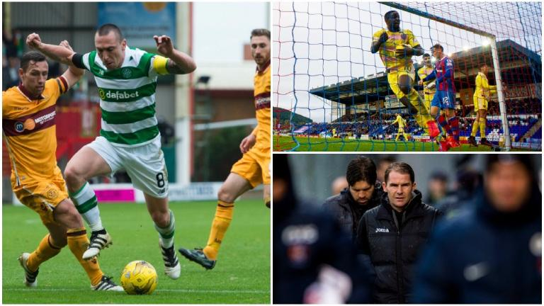 As it happened: Saturday's Premiership and SPFL action