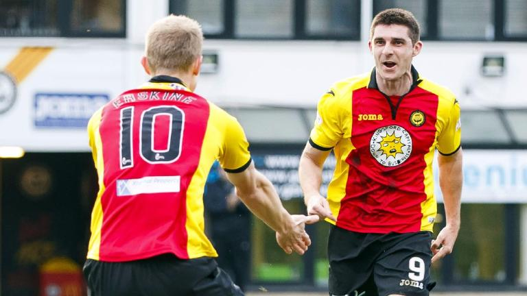 Doolan the difference for Partick Thistle against Accies