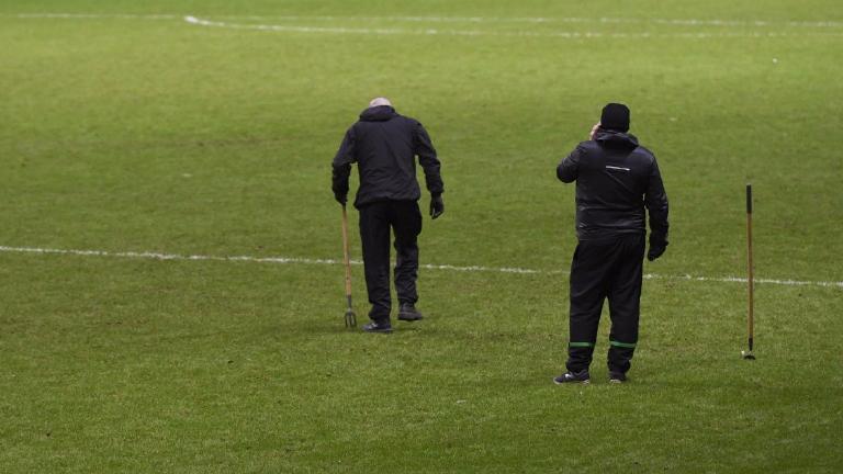 Brendan Rodgers bemoans Celtic Park playing surface