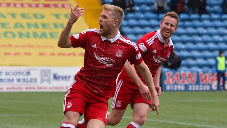 Watch Aberdeen pull off a late comeback at Kilmarnock