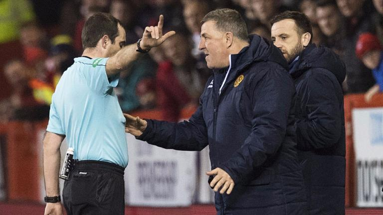McGhee charged by Scottish FA over Pittodrie outburst