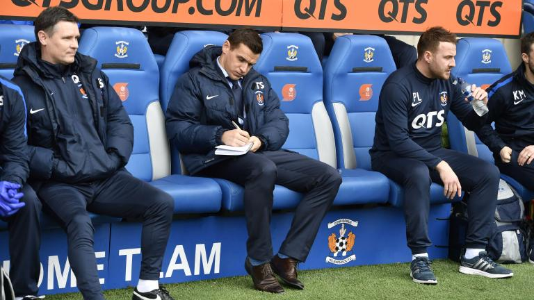 Lee McCulloch to remain as Kilmarnock caretaker manager