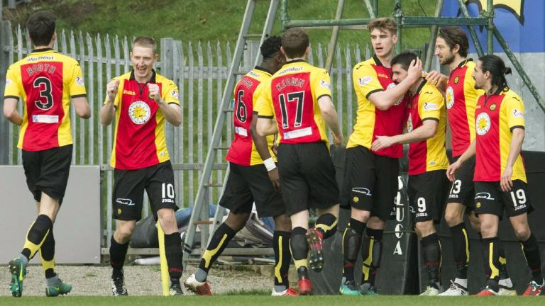 Partick Thistle notch successive wins by beating Hearts
