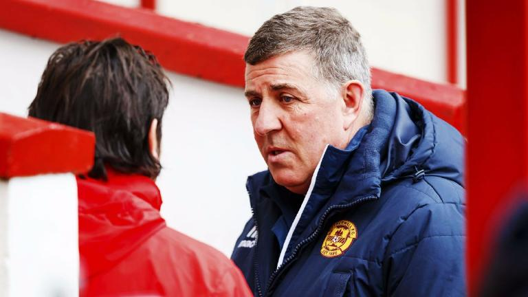McGhee calls for 'realism' as Motherwell pressure mounts