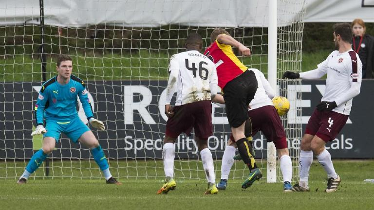 Watch Partick Thistle claim 2-0 win over toiling Hearts