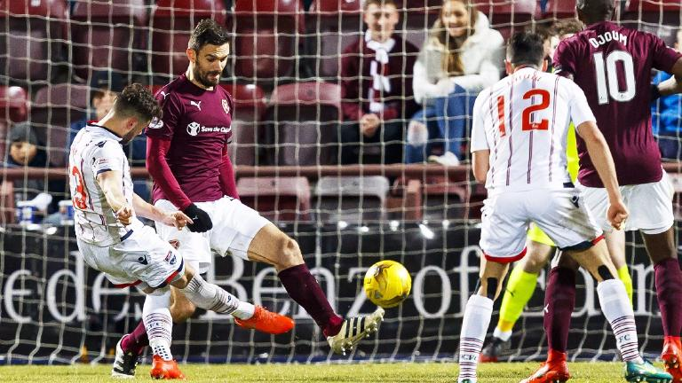 Ross County pile pressure on Ian Cathro with 1-0 win