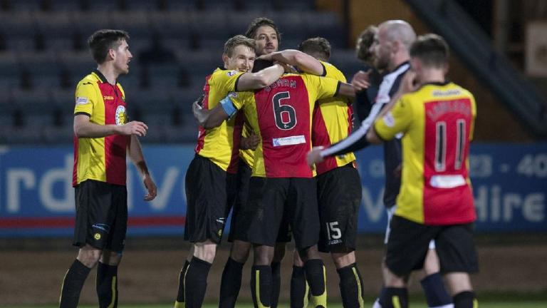 See highlights of Partick Thistle's 1-0 win in Dundee
