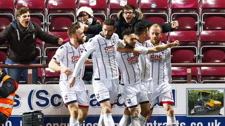 Watch highlights of Ross County's 1-0 win at Hearts