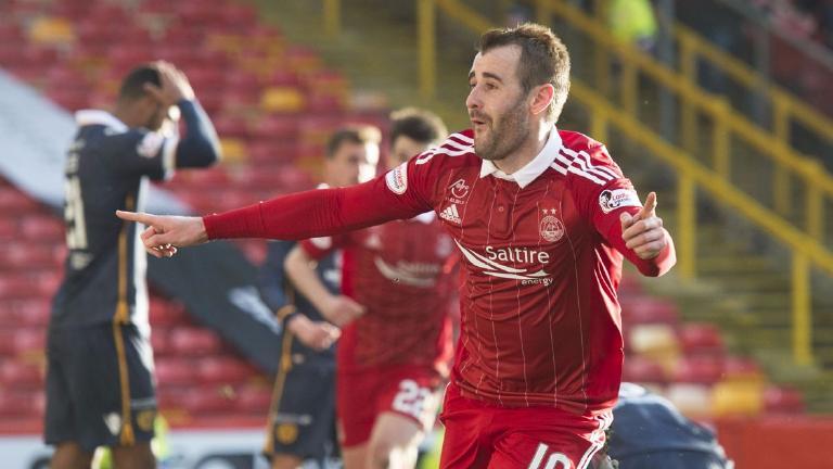 Aberdeen 1-0 Motherwell: McGinn strikes late winner