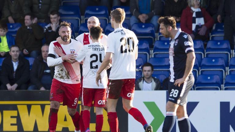 Ross County 1-2 Kilmarnock: Boyd settles dour contest