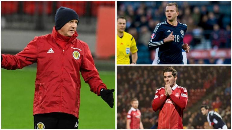 Gordon Strachan explains his Scotland squad decisions