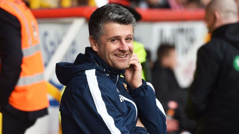 Motherwell appoint Stephen Robinson as new manager
