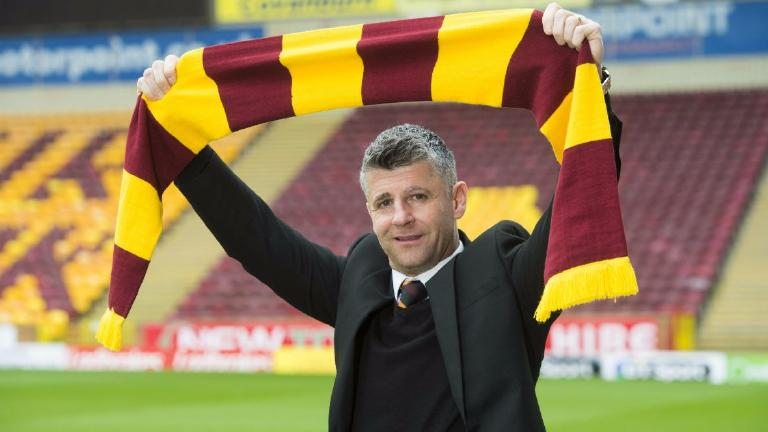 New Motherwell boss: It's all about avoiding relegation