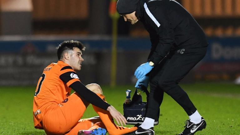 Scott Fraser to miss rest of season with broken foot