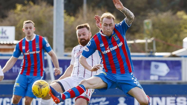 ICT 1-1 Ross County: Caley move off bottom of the table