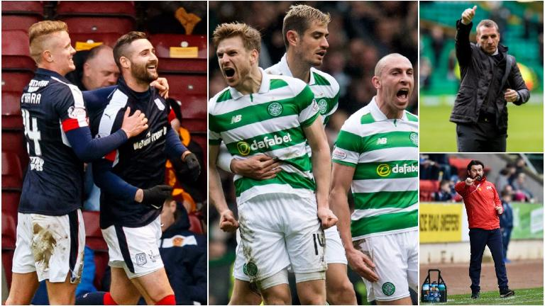As it happened: Celtic beat Dundee 2-1 at Dens Park