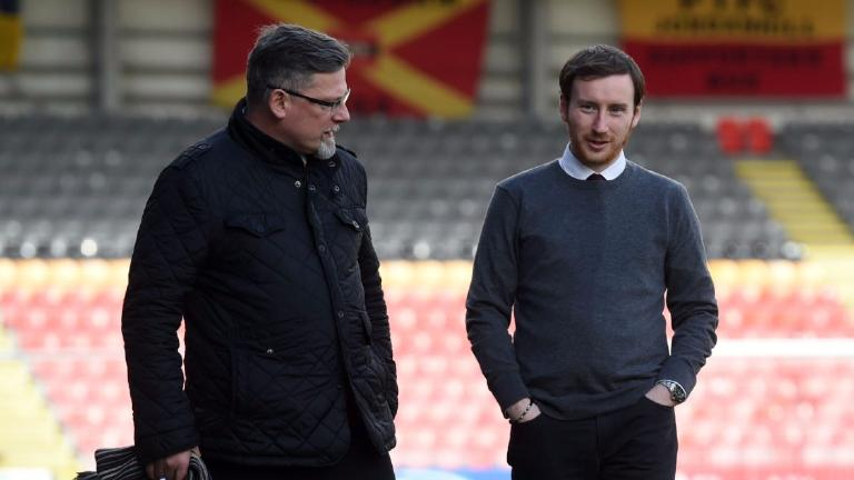 Cathro: Levein's input was normal but I call the shots