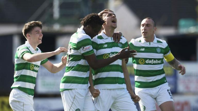 See Simunovic and Armstrong edge Celtic closer to title