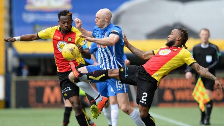 Watch Partick Thistle gift Killie a share of the points